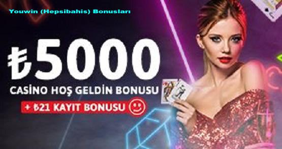 Youwin (Hepsibahis) Bonusları